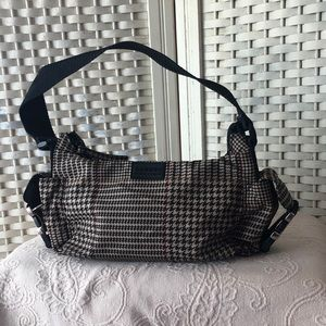 Vintage Ralph Lauren Houndstooth Hobo Bag
